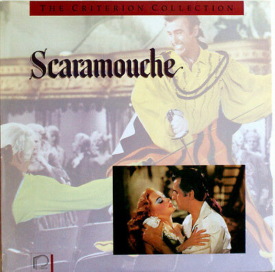 SCARAMOUCHE Stewart Granger The Criterion Collection  Laserdisc LD NTSC