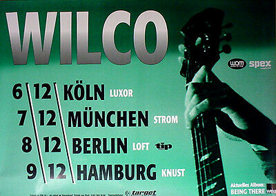 Wilco '96 Orig German Concert Poster - FREE US SHIPPING