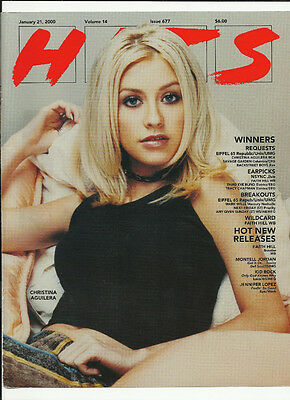 CHRISTINA AGUILERA & KITTIE Spit Trade Ad POSTER for 1999 Spit & self title CD