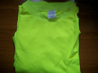 Safety T-Shirt XX-Large- Cool Dry - Hi Perf - Lime 50pk