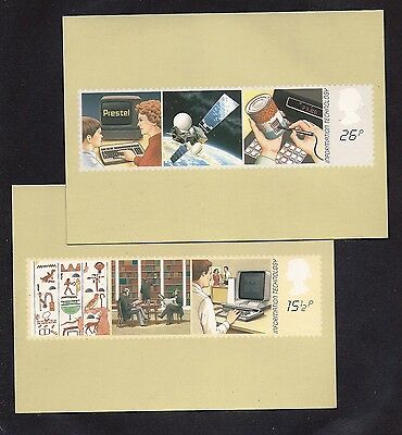 Gr Brit Phq Cards #62(2)  1982 Info Technology Mint
