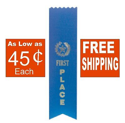 1st FIRST PLACE BLUE AWARD RIBBON (YOU CHOOSE AMOUNT) School SPORTS Contest 4H