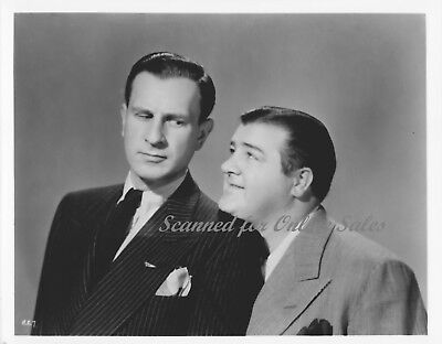 Bud Abbott & Lou Costello Comediennes 8x10 Photo