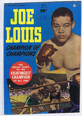 Joe Louis #2 Fawcett 1950