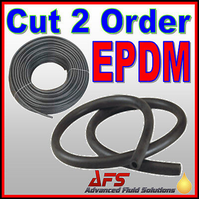 5mm ID 3/16 EPDM Smooth Rubber Tubing Coolant Radiator Hose Brake Fluid Tube Air
