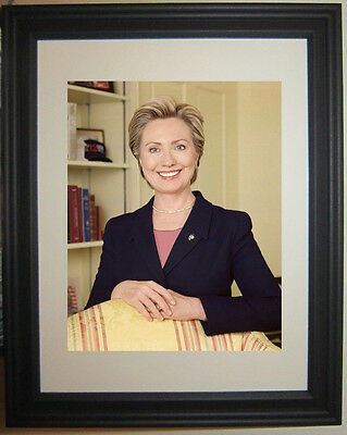 First Lady Secretary of State Hillary Clinton Framed Photo Picture