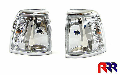 Toyota Hilux Rn85 88-97 2Wd Corner Lamp Crystal Lens - Pair