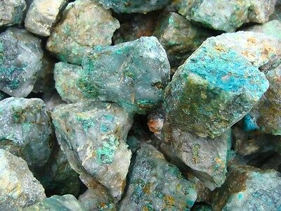 500 Carat Lots of Unsearched Natural Chrysocolla Rough (Very Nice)