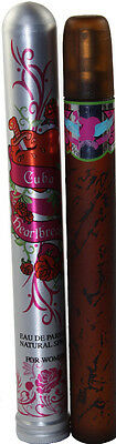 2 PIECES CUBA HEART BREAKER 1.17OZ EDP FOR WOMEN NEW IN BOX BY PARFUMS DES CHAMP