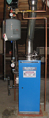 Buderus Gas Boiler GC144 85% AFUE Propane or Natural Gas INSTALLED in NH