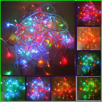 Nice Multi-color 10M 100-LED Christmas Fairy Party String Lights, Waterproof