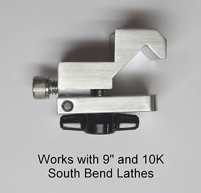 "South Bend lathe dial indicator clamp for 9""&10K"