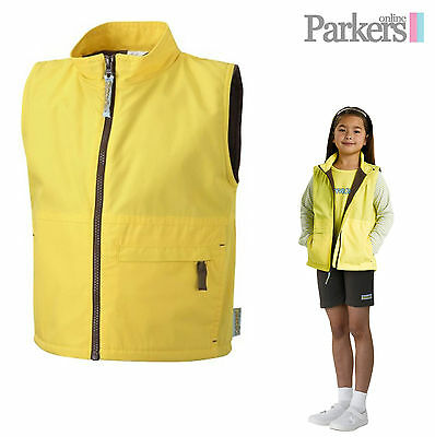 """Brand New Brownies Gilet Body Warmer Brownie Girl Guides Uniform Size 28""""- 34"""""""