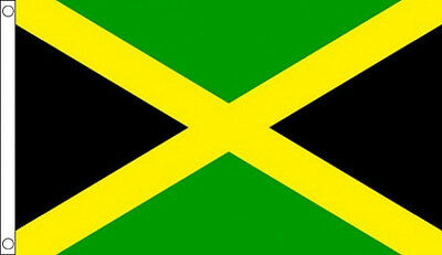 3' x 2' Jamaica Flag Jamaican National Flags Caribbean Country Banner