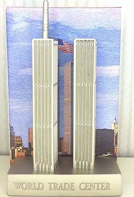 World Trade Center Statue Figurine, Twin Towers, New York City, Remember 9/11