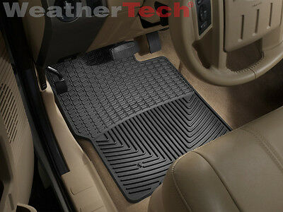 WeatherTech All-Weather Floor Mats Ford Super Duty Regular Cab 1999-2010- Black