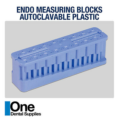 Dental Endo Measuring Block - Plastic 5 pcs