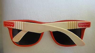 Vtg Fisher Price Children Toy Plastic Miniature Real Sunglasses Taiwan Made