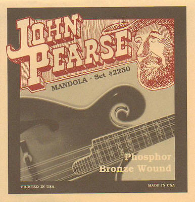 JOHN PEARSE JP2250 tenor mandolin,  mandola strings phosphor bronze