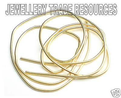 Pearl & Bead Necklace Ends French Wire Gimp Bullion Bouillon Gold Medium