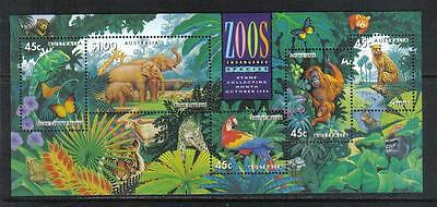 Australia 1994 Zoo Animals ss--Attractive Topical (1389a) MNH