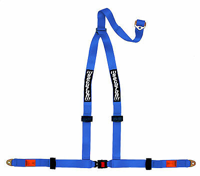 NEW Securon 628/Blue 3 Point Racing Rally Race Harness with Anchor Plates
