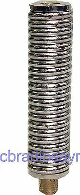 Medium Duty Chrome Plated Spring - 3/8 Fitting for CB Antennna