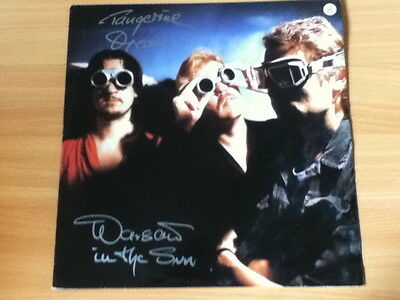 "TANGERINE DREAM ~ 'Warsaw In The Sun'~UK JIVE 12"" 1984~KRAUTROCK"