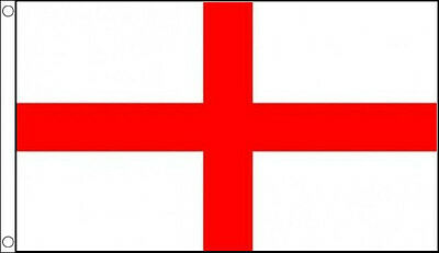 HUGE 8ft x 5ft St George Cross Flag Massive Giant England English Funeral Flags