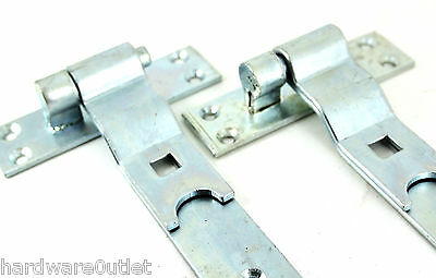 Band & Hook Gate Hinges Straight & Cranked Gates Stable Door Garage Door Field