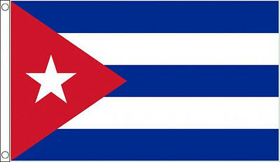 HUGE 8ft x 5ft Cuba Flag Massive Giant Cuban Flags