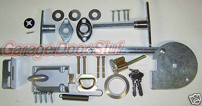 Garage Door Lock Set  1 Car Door Torsion Spring