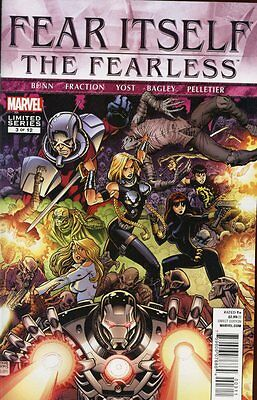 Fear Itself: Fearless #3 (of 12) Comic Book - Marvel