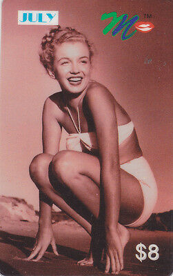 Marilyn Monroe - phone card - ACMI - July