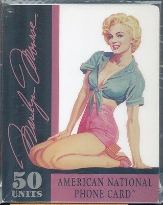 Marilyn Monroe - phonecard - Jumbo card