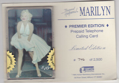 Marilyn Monroe - phonecard - Premier Edition