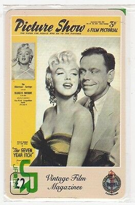 Marilyn Monroe - phonecard - Seven Year Itch