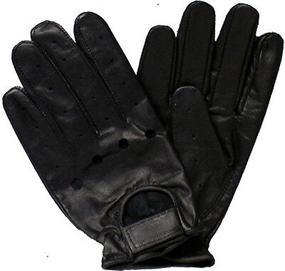 Genuine Leather Cowhide Bikers' Driving Gloves # 2662