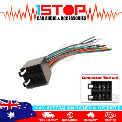 HOLDEN COMMODORE VY-VZ WIRING HARNESS adaptor cable connector lead loom plug