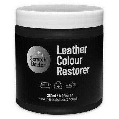 BLACK Leather Dye Colour Restorer for BMW Leather Car Interiors, Seats etc.