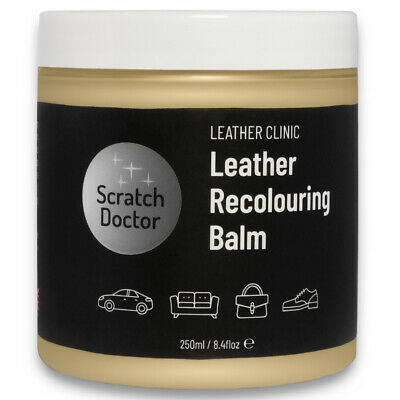 CREAM Leather Dye Colour Restorer for  AUDI Leather Car Interiors, Seats,