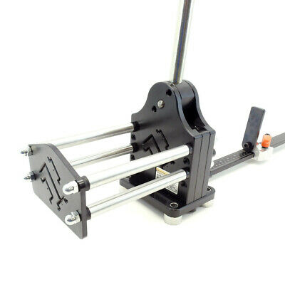 New Multi Profile High Rise Aluminum DIN Rail Cutter with Guide and Length Stop