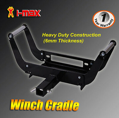 I-MAX Winch Cradle Mount Mounting Plate Bracket 4WD Bull Bar, Truck & Trailers