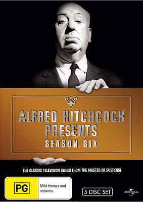 Alfred Hitchcock Presents: The Complete Season 6 NEW R4 DVD