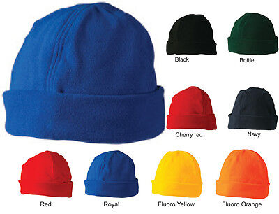 POLAR FLEECE PLAIN / COLOUR BEANIES -Special Price !!!
