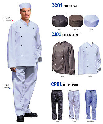 CHEF'S CAP, CHEF'S JACKET, CHEF'S PANTS - High Quality !!!
