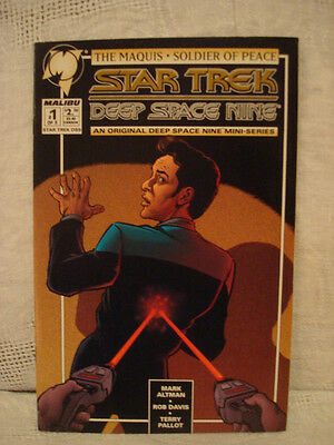 Star Trek Deep Space Nine Comic #1 The Maquis - Soldier of Peace