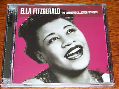 """Ella Fitzgerald - The Definitive Collection 1936-1953"" Beautiful 2CD Set"