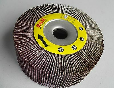 "5pcs New Abrasive Flap sanding Wheel 4""x 1""x5/8"" ASSORTMENT"