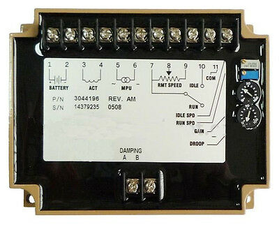 3044196 Electronic Engine Speed Controller/governor for generator/Genset parts